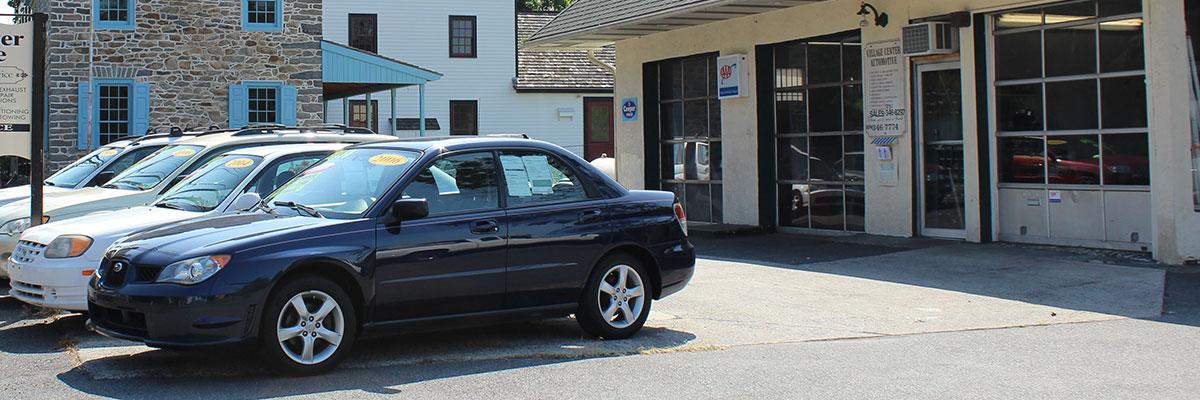Sales at Village Center Automotive