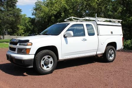 2010 Chevy Colorado 4×4 Work Truck W/ Rack